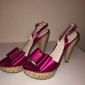 100% Authentic Stuart Weitzman Espadrille Sandals